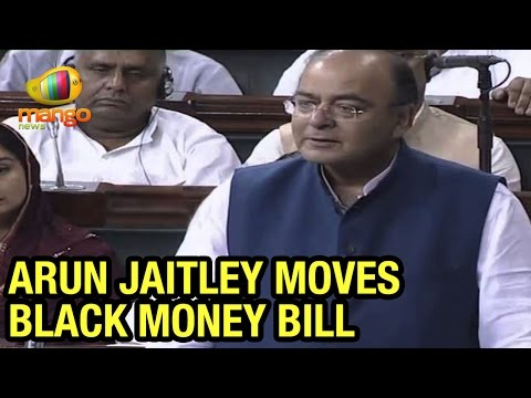 Union Minister Arun Jaitley moves Black Money Bill in Lok Sabha | Mango News