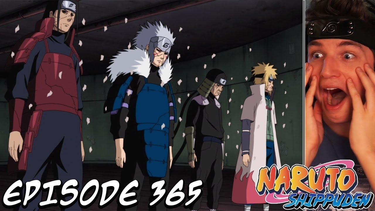 THE FOUR HOKAGE RETURN! | Naruto Shippuden REACTION ...
