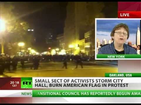 'OWS camps banned - where do we convene?'