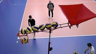 Волейбол. Обучение. Нападающий удар и пас. Тренажеры. Полная версия