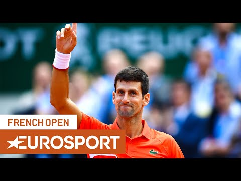 Novak Djokovic Vs Alexander Zverev Highlights | Roland Garros 2019 Quarter-Final | Eurosport