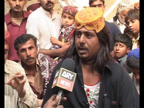 ARY NEWS Sultan Gabol Sindhi Topi History And Culture Reprot By Ajiz Jamali.flv