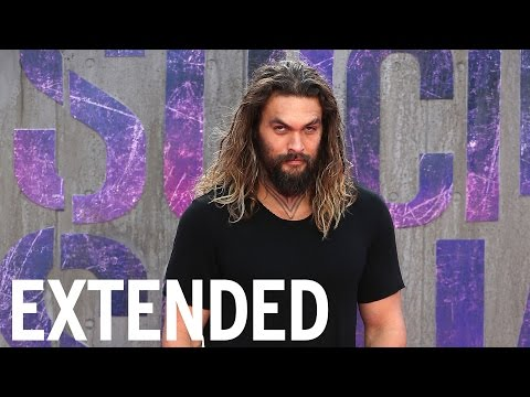 Jason Momoa Reveals 'Justice League' Secrets | EXTENDED