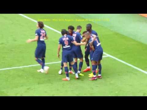 PSG / Angers 25.08.2018 : 3-1 (L1 J3) 6/7 : Juste après ...
