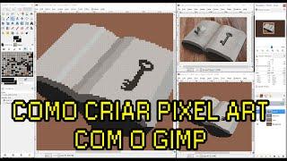 Arte para Jogos: Como usar o GIMP para Pixel Art