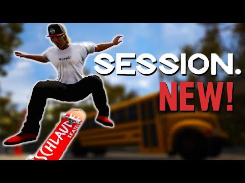 SESSION IS HERE!! // The Newest Skate Game
