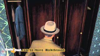 LA Noire Walkthrough - PT. 7 - Story Mission 5 - The Driver