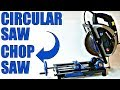 Change CIRCULAR SAW to CHOP SAW