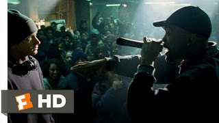 8 Mile (1/10) Movie CLIP - Rabbit Battles Lil' Tic (2002) HD
