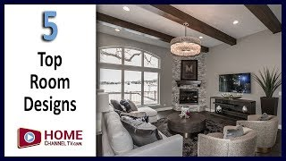 Top 5 Great Room Designs from Our Home Tours (Spring 2019) - Design & Remodel Ideas