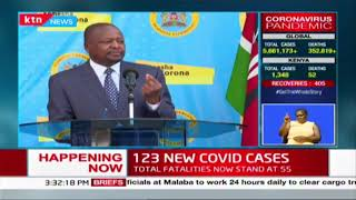 'This is not a fight for the government,' Kagwe explains why he will continue to make public appeals