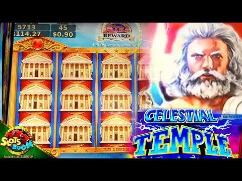 Celestial Temple Bonuses & Live Play !!! 2c Konami Video Slots