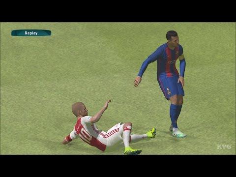 PES 2017 - FC Barcelona vs AFC Ajax | Gameplay (PC HD) [1080p60FPS]
