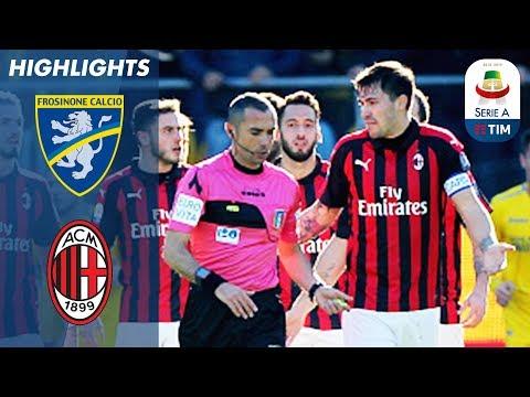 Frosinone 0 - 0 Milan | VAR Disallows Goal in Controversial Fashion | Serie A