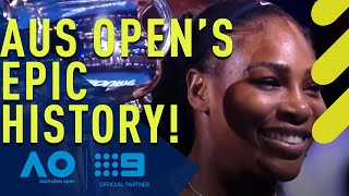 The Australian Open's incredible history  | Wide World of Sports