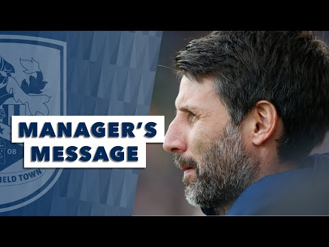 🗣 MANAGER'S MESSAGE | Danny Cowley reviews Fulham defeat