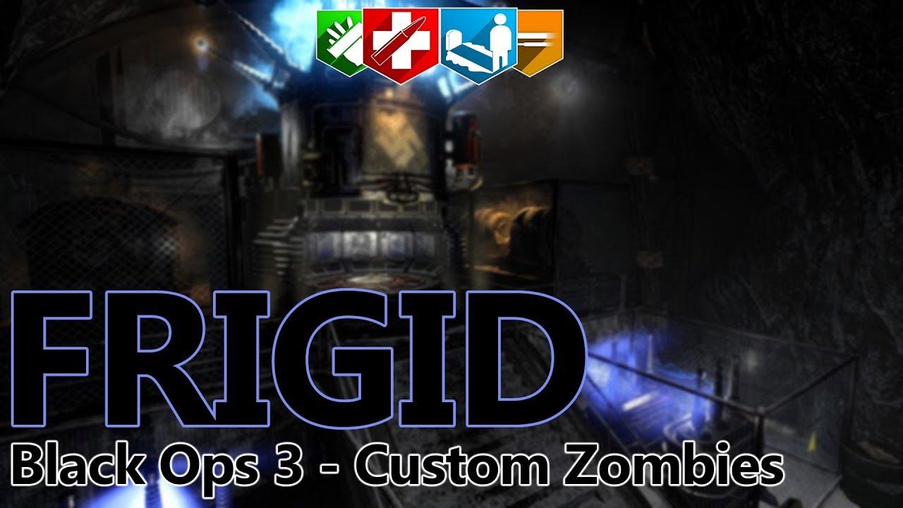 FRIGID - The Best Custom Zombies Map - Black Ops 3 Custom Zombies!