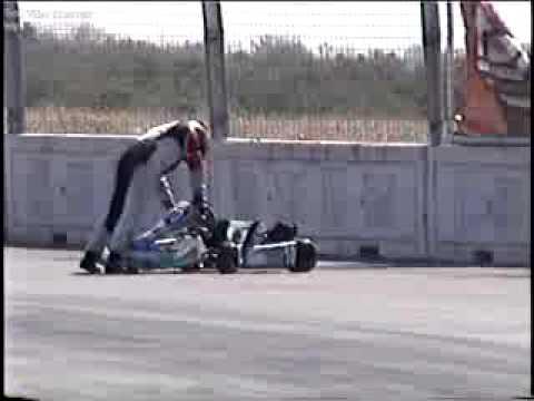 Accidente Go-Kart en el Autodromo Monterrey