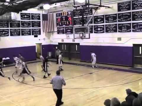 Peru Boys Varsity Basketball  1-16-13