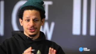 Comedian Eric Andre prefers dated technology
