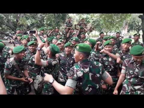 Yel Yel TNI AD keren