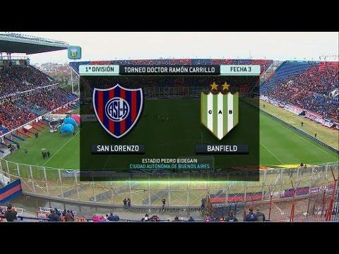 Ftbol en vivo san lorenzo  banfield fecha 3 primera divisin 2014 fpt