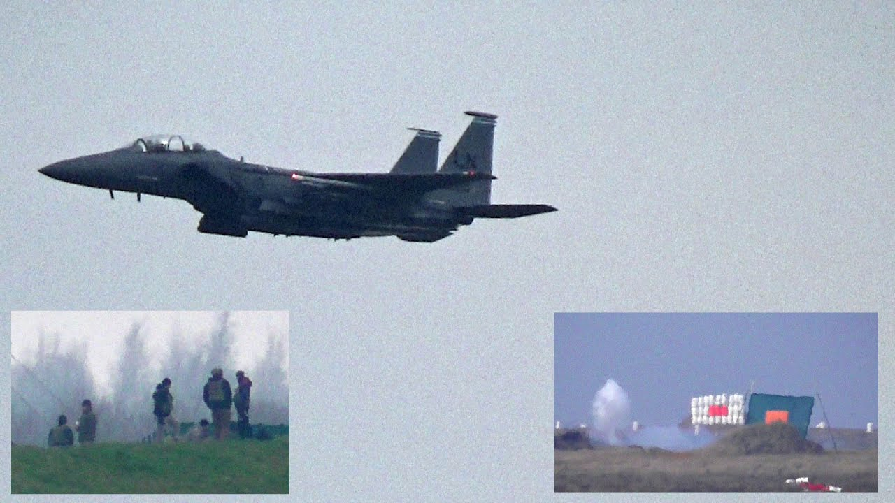 u s jtacs training with f 15 jets firing the m61 vulcan cannon on rh youtube com