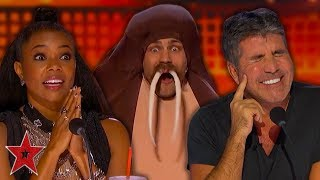 MOST OUTRAGEOUS Auditions On America's Got Talent 2019! | PART 1 | Got Talent Global