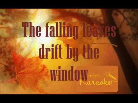 Autumn Leaves - Nat King Cole Karaoke