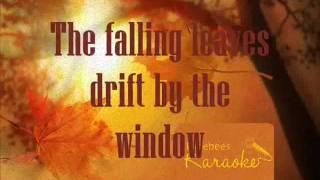 Autumn Leaves - Nat King Cole Karaoke