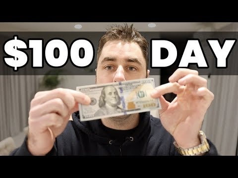 How To Make $100 PER DAY With ZERO Money To Start! (Make Money Online)