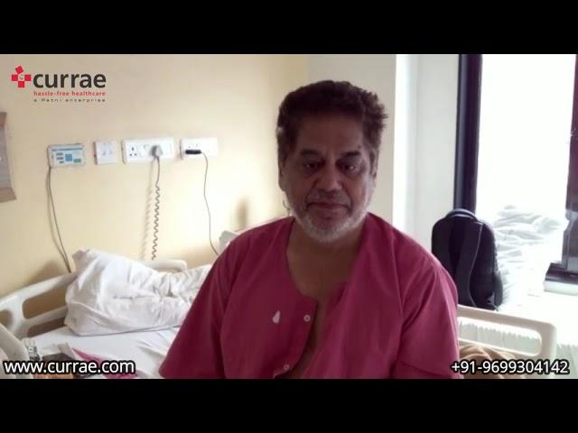 Mr. Suresh Rajpal | Fistula Surgery | Dr. Kushal Mittal | Currae Hospitals