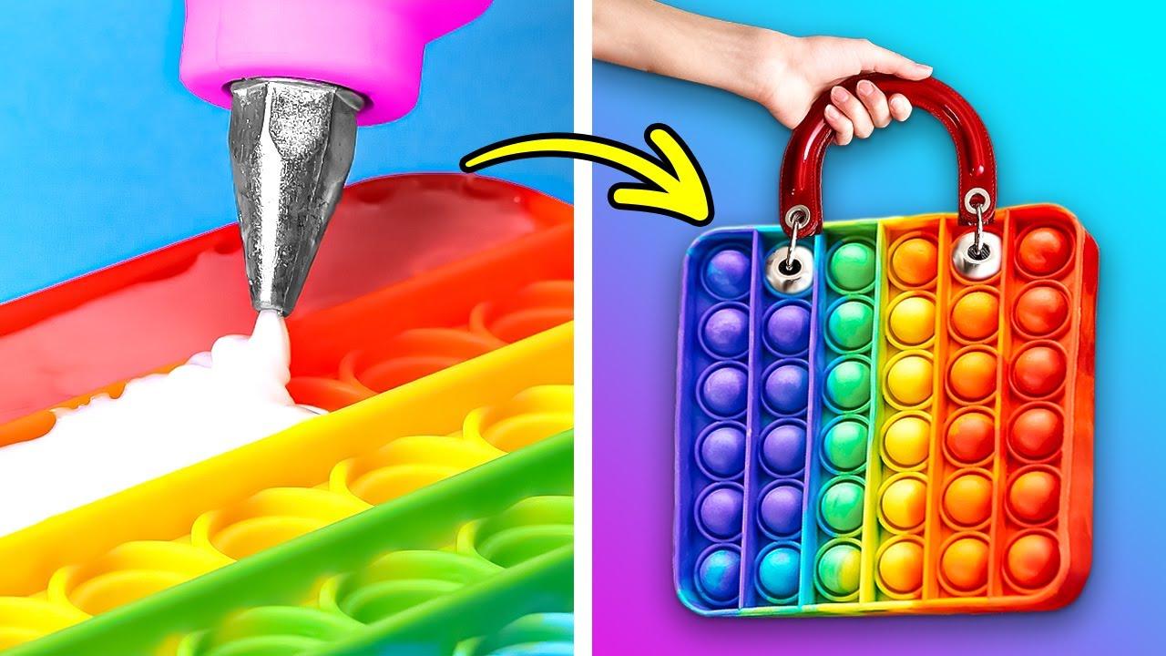 Download Colorful Glue Gun DIYs And 3D-Pen Crafts || DIY Jewelry, Accessories And Repair Tricks