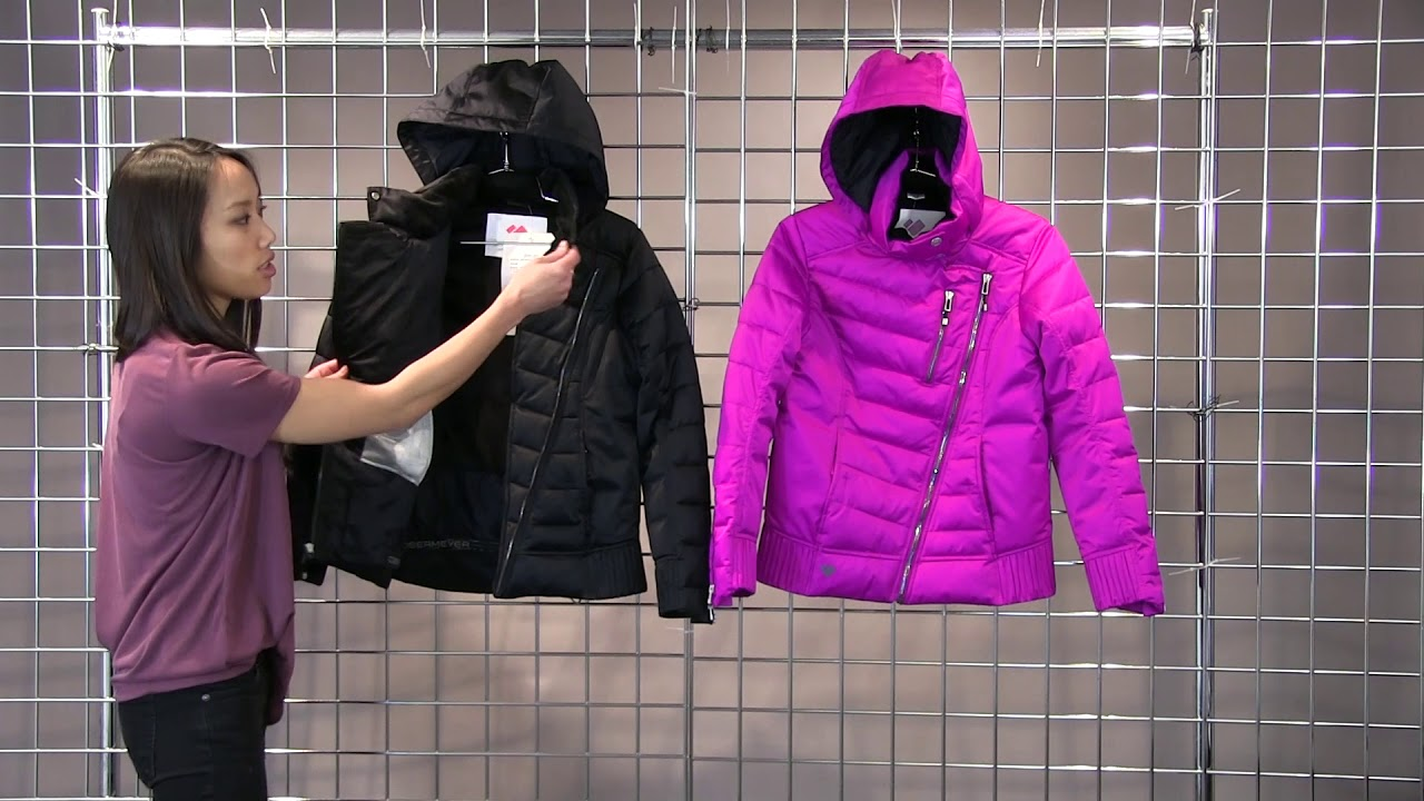 8e0036e2287e Obermeyer Girls Aisha Jacket 2017-2018 - YouTube