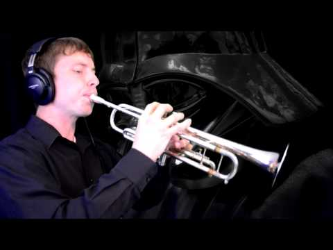 """The Imperial March (from """"Star Wars Episode V: The Empire Strikes Back"""") Trumpet Cover"""