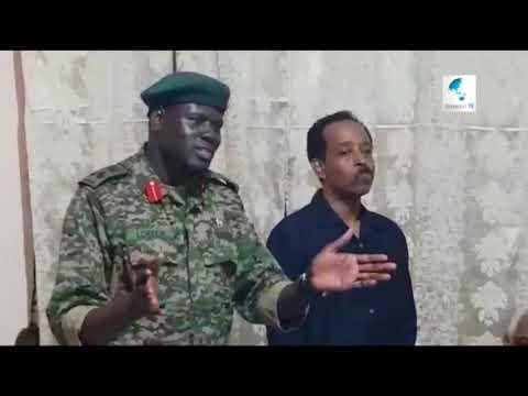Taliyaha Amisom Oo Runta Taabsiiyay Madaxda Somaliya