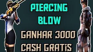 Como Ganhar (3000) Cash De Graça No Piercing Blow 2016
