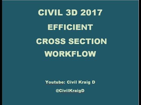 Civil 3D 2017 - Cross Section Creation
