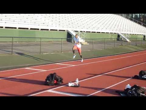 Triple Jump Training - Samyr Laine (Outdoors 2011:...