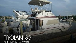 Used 1987 Trojan 350 Cabin Cruiser For Sale In Queens, New York