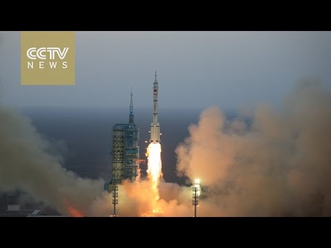 China launches Shenzhou-11 manned spacecraft in northwest China