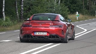 Mercedes AMG GT R with Fi Exhaust System - LOUD Revs, Accelerations & Crackles !