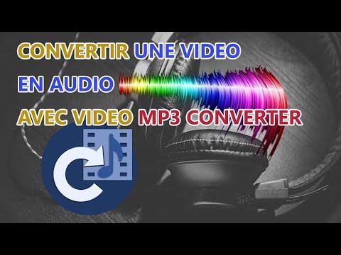 Comment convertir une vidéo en audio avec mp3 converter avec son téléphone