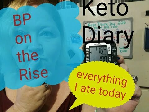 keto-diary,-what-i-ate-today,-weigh-in,-bp-issues