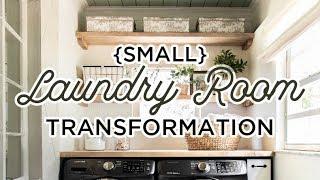 Laundry Room Makeover: Riverside Retreat