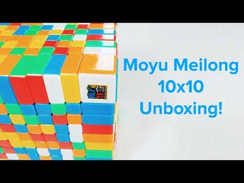 MoYu MeiLong 10x10 Unboxing - IT BROKE AFTER 2 DAYS..   NFR Cube Merchandise