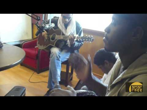 Adouniya - Bombino at the HIT95 Studios in India