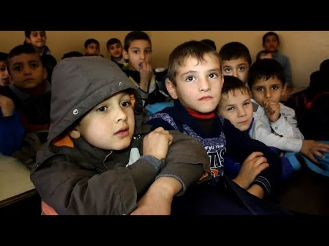 Teachers in Iraq's Mosul learn to cope with traumatised pupils