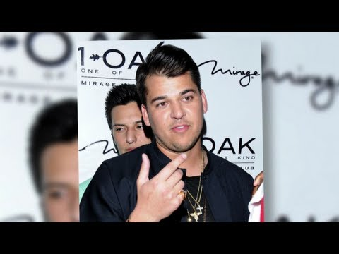 "Rob Kardashian Has a ""Tiny"" Weight-Loss Problem"