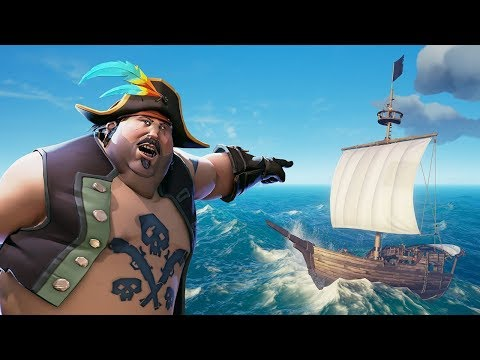 Взорвали корабль ● Закрытый Тест Sea of Thieves 2018 - Ruslar.Biz